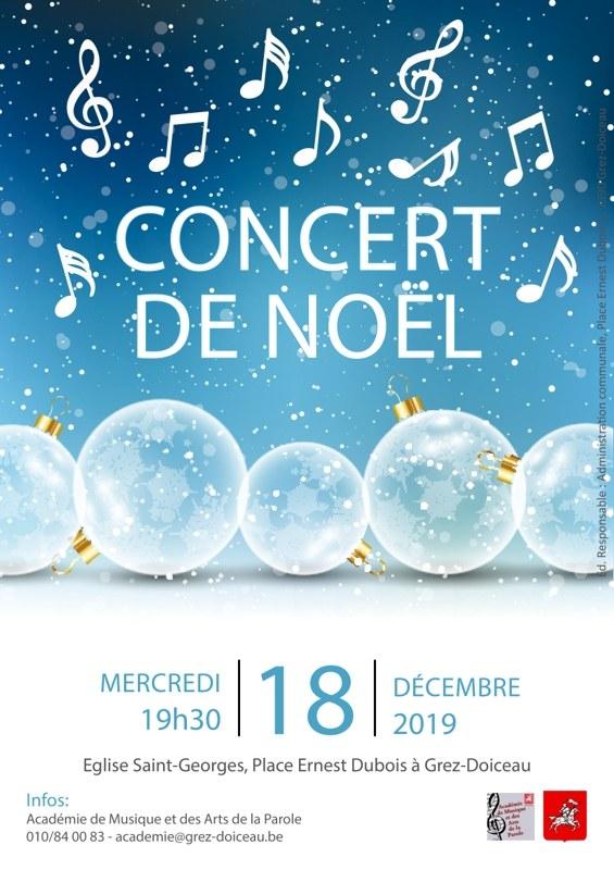 Concert de Noël A3 2019